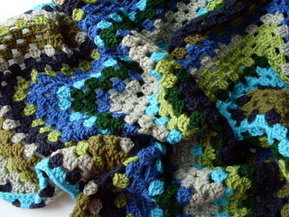 WIP: Giant Granny Square Blanket | by bugsandfishes by lupin