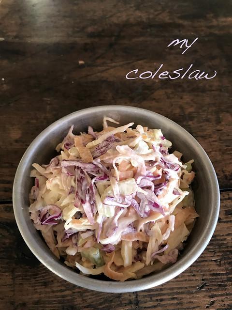 my coleslaw