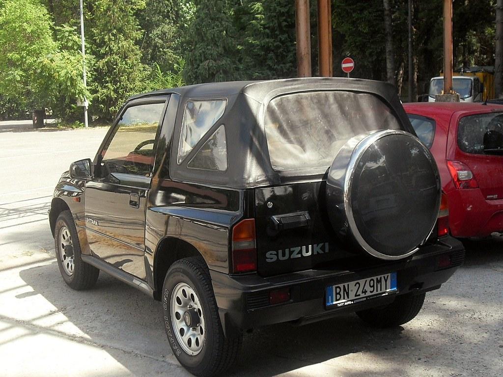 Suzuki Vitara Cabriolet 16i JX 2000