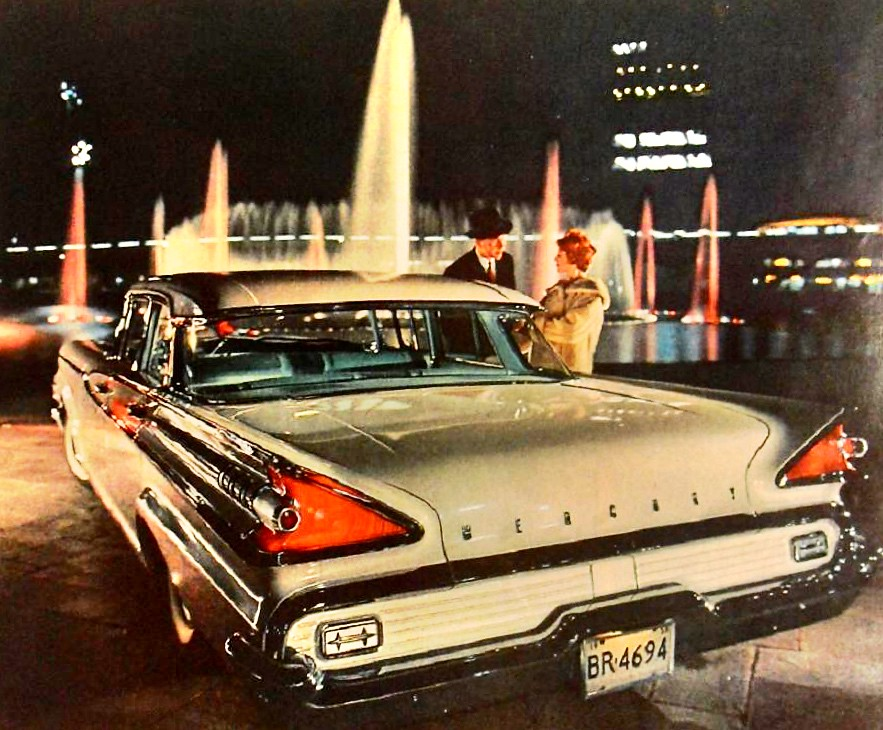 All New Cars >> 1959 MERCURY automobile vintage car advertisement man woma… | Flickr