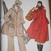Vintage 1980s Vogue 8979 Womens Coat Pattern Size 12
