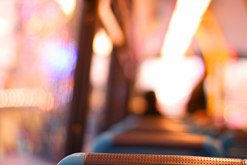 Travel in pink inside the bus | by Che-burashka