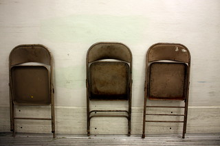 folding chairs | by orphanjones