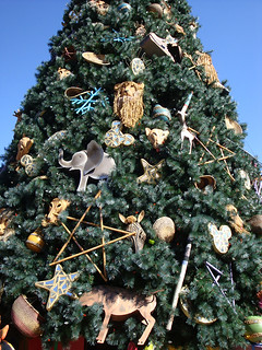 Animal Kingdom Christmas Tree | by mostlyirun