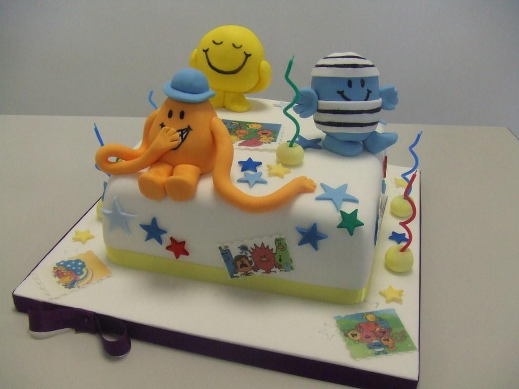 Mr Men Cake For A Little Boys Th Birthday Jules Enquiries - Mr tickle birthday cake