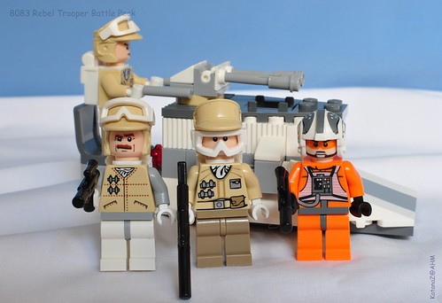 Star Wars Lego 8083 Rebel Trooper Battle Pack | Flickr - Photo ...