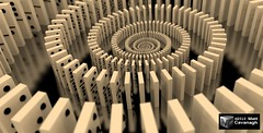 Domino Spiral | by FracturedPixel