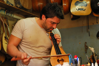 Nikos, Cretan Lyra Maker/Musician | by goingslowly
