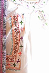 Mexican fine embroidered blouse | by Aida Coronado Galeria