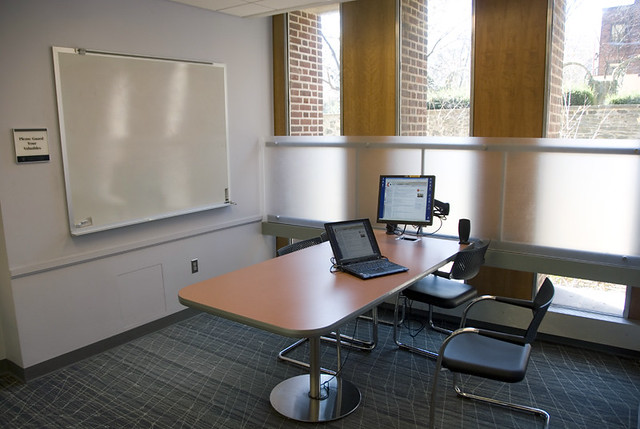 Wic group study room group study room in the weigle for Design office space online