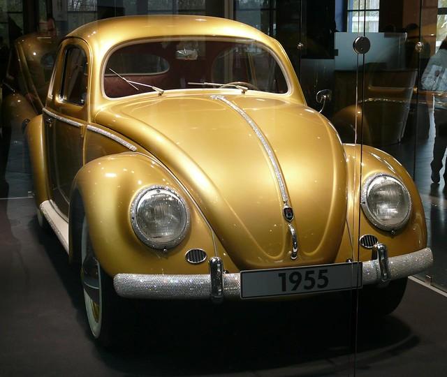 Golden Beetle Vw Vr 1955 1 Million Stkone Flickr