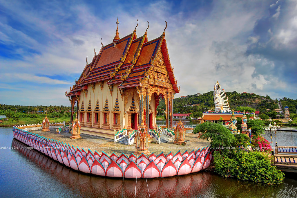 Floating Temple #1 / Wat Plai Laem / Koh Samui (Island) / …  Flickr