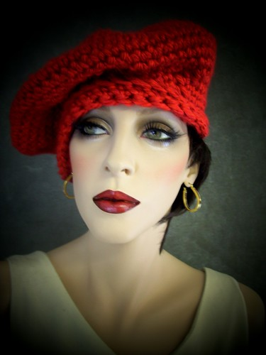 Candy Apple Red Beret | by UniquelyEwe