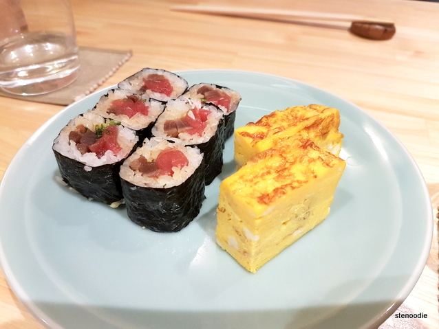 Maki and tamago