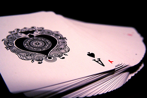 Ace of Spades Card Deck Trick Magic Macro 10-19-09 2 | by stevendepolo
