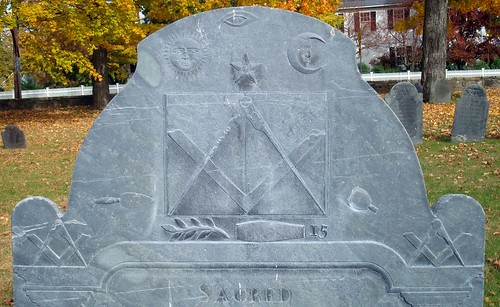 Masonic Headstone | by Svadilfari