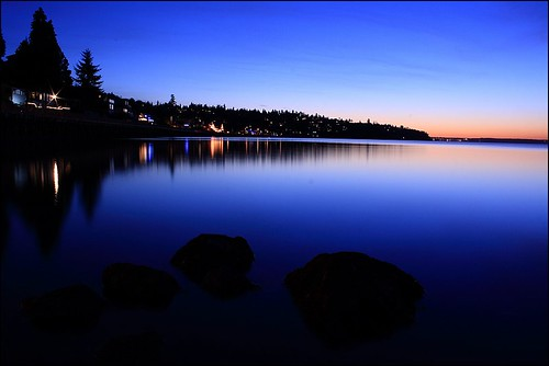 ~ All is calm along the Puget Sound ~ | by coral staley-hall