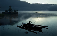 094 Fishing at dawn--Bali , Indonesia | by ngchongkin