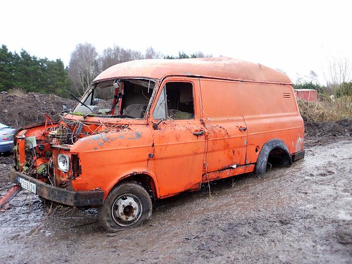 Ford Transit Van >> A 1971 Ford Transit Van | Sitting on the 'scaffold' beside t… | Flickr