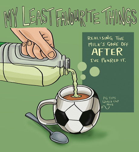 My Latest Article On Things: My LEAST Favourite Things - Gone Off Milk