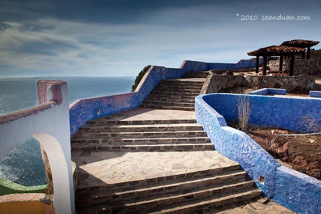 Overhead of Pacific coastline from El Mirador, Ensenada, B… | Flickr