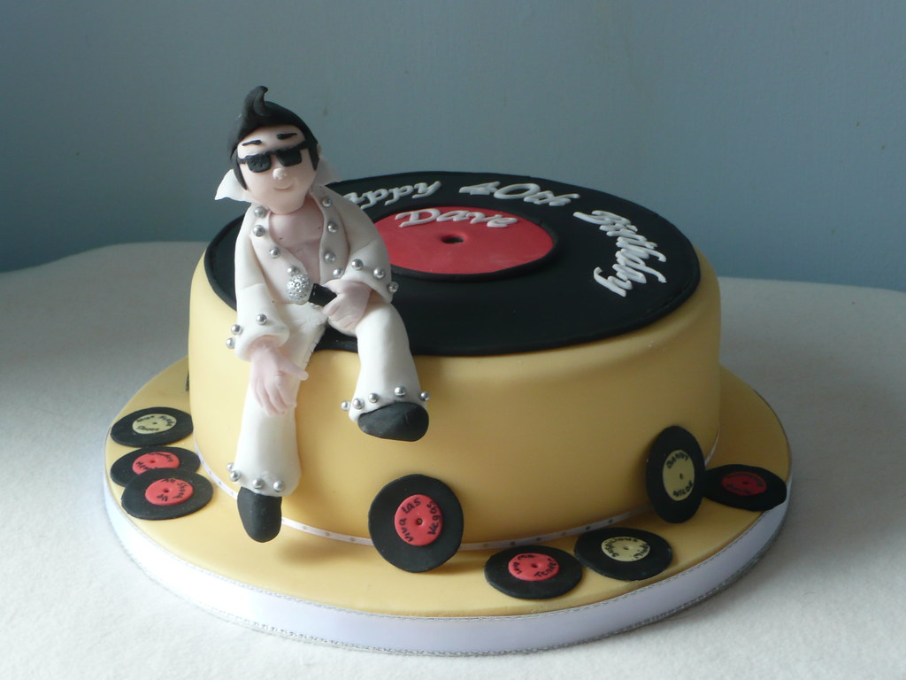 Elvis Cake I Enjoyed Doing This Cake So Much But Found