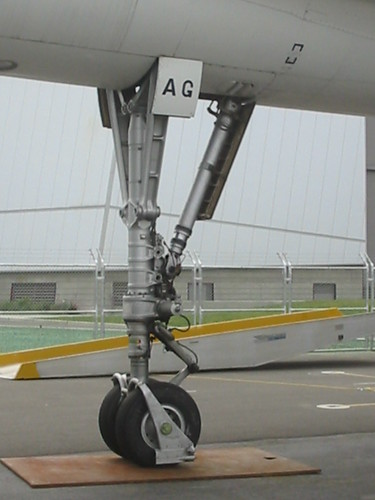 Concorde Forward Landing Gear As With The Main Gear