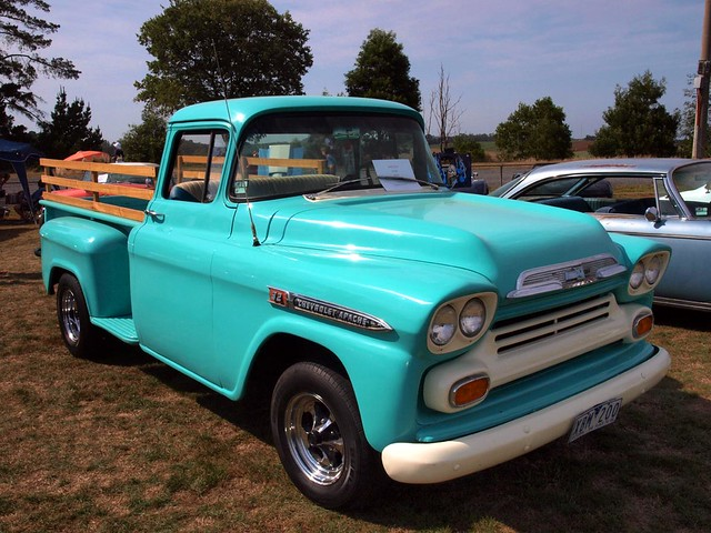 1959 Chevy Apache 32 Pickup Truck View On Black At Gembroo Flickr