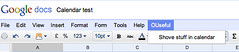 Menu option in google spreadsheet | by psychemedia