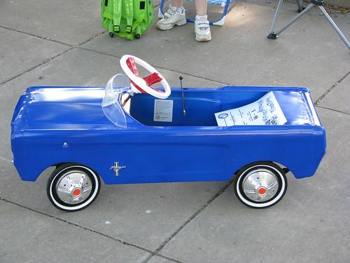 New Mustang Pedal Car