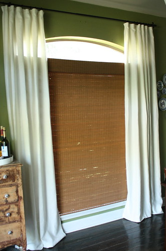 new curtains | by artsy-crafty babe