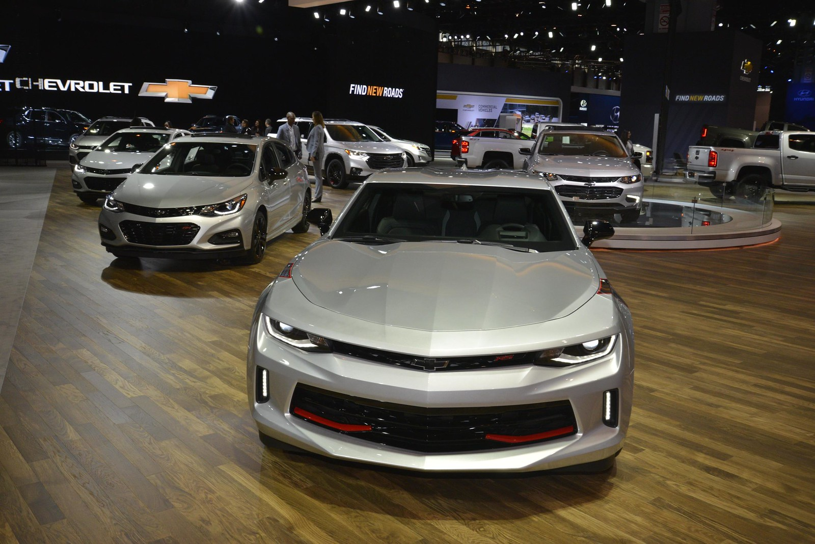 Chevrolet Redline Edition live photos: 2017 Chicago Auto Show