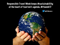 Rephrasing and remixing @ABTAMembers: Responsible Travel Week keeps #sustainability at the heart of tourism's agenda. #rtweek17