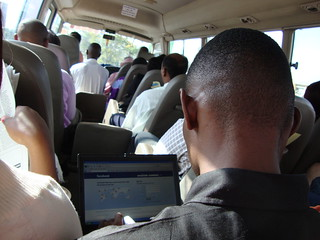 Facebook in the Bus to Arusha | by ajleon