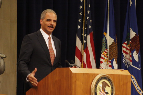 Eric Holder | by ryanjreilly