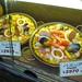 Paella and valencian rice food replicas in Yokohama