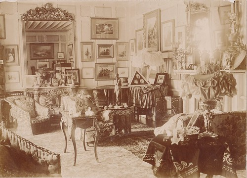Late victorian interior a c1900 interior shot no for Interior decor history