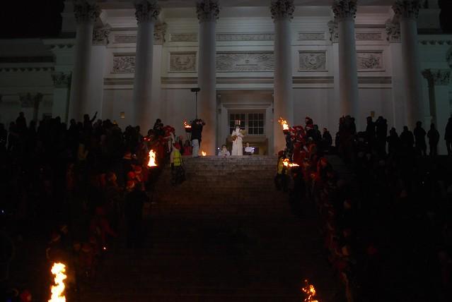 Santa Lucía en la catedral de Helsinki