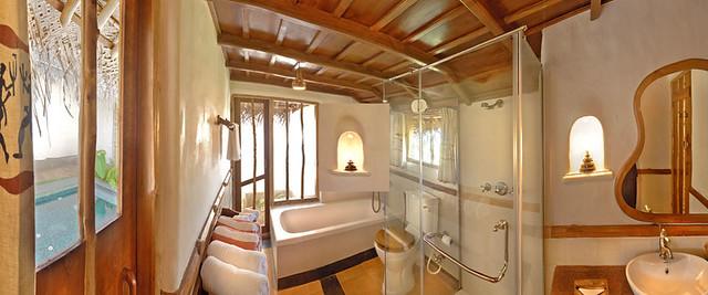 Bathroom At The Jacuzzi Hut Orange County Kabini Flickr