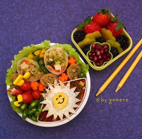 sunshine tofu bento | by gamene