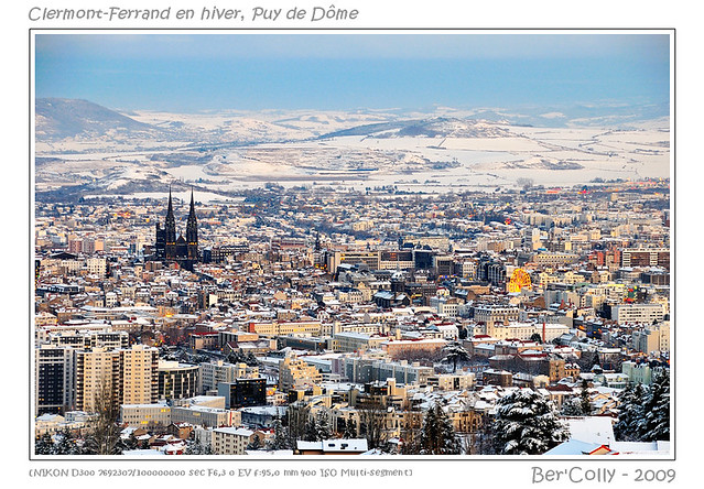 Winter in auvergne clermont ferrand winter and snow for - Massif jardin japonais clermont ferrand ...