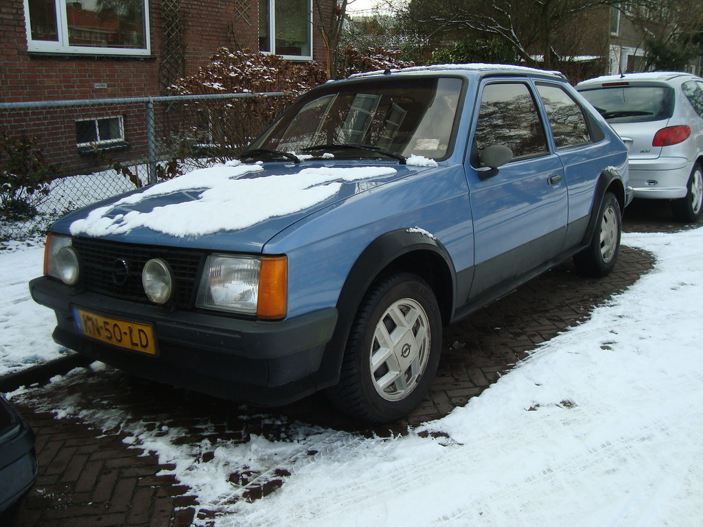 1984 Opel Kadett D 1.6 SR | 30 January 2010, Voorburg ...