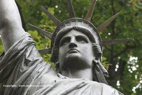 Statue Luxembourg Gardens Statue Of Liberty This Is A Co Flickr