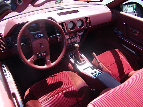 1986 300zx Z31 Turbo Digital Dash Red Lukage1988 Flickr