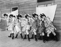 "Women dancers from Kiralfy's Carnival of Venice, ""The Trail,"" Lewis and Clark Exposition, Portland, Oregon 