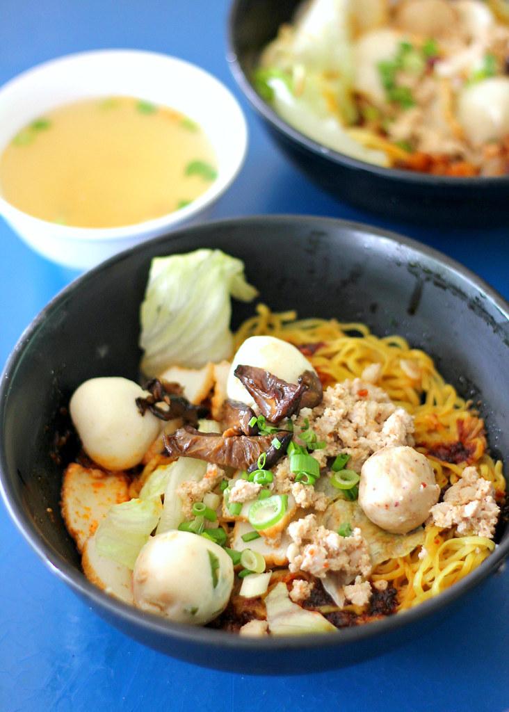 Yam Mee Teochew Fishball Mee (Kovan)