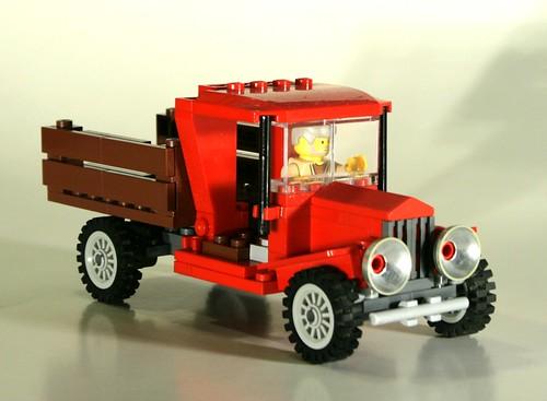 Old Lego Car Racing Game
