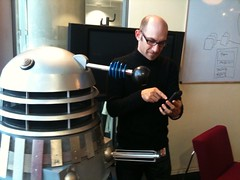Dalek directing UX design at the BBC | by Hugger Industries