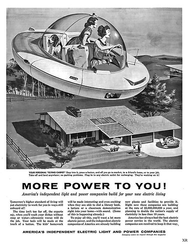 1958 ... Mom and flying car | by x-ray delta one