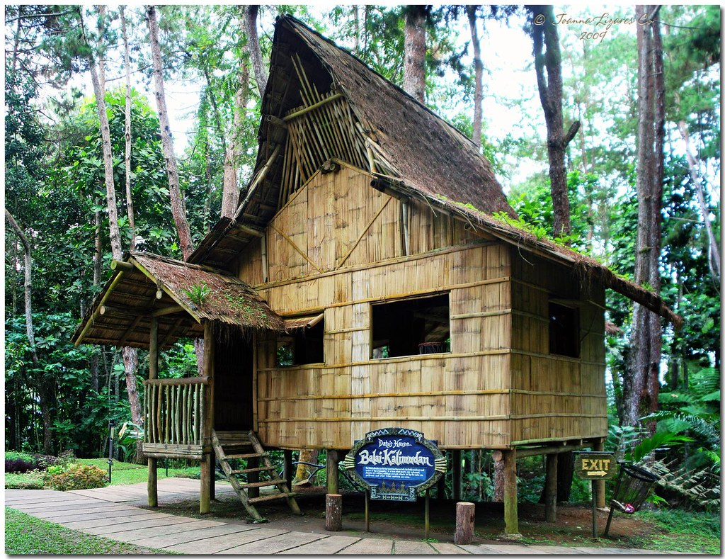 Eden nature park tinubdan balai kalimudan the balai for Classic house design philippines